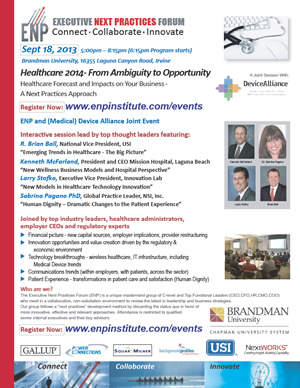 Healthcare 2014: From Ambiguity to Opportunity